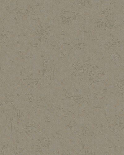 Tapete Vlies Beton Patina graubraun gold metallic 31642