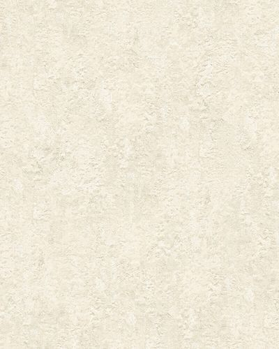 Non-Woven Wallpaper Patina beige white metallic 31643