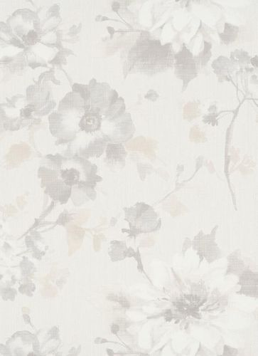 Wallpaper Guido Maria Kretschmer Blossoms grey 10051-14 online kaufen