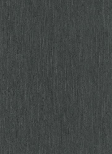 Non-Woven Wallpaper Strokes Structure black 10034-15