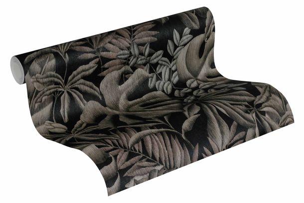 Tapete Vlies Blätter Botanik schwarz graubeige 37033-2 online kaufen