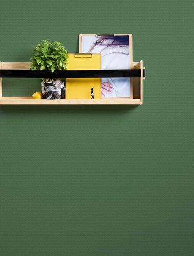 Tapete Vlies Würfel Struktur grün 37211-1