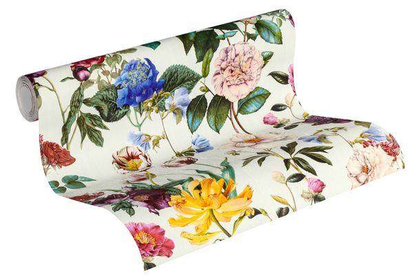 Non-Woven Wallpaper Blossom cream green Jette Joop 37336-1 online kaufen