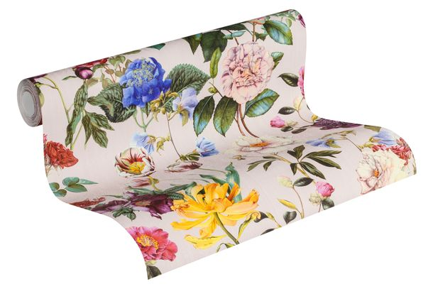 Non-Woven Wallpaper Blossom pink green Jette Joop 37336-3 online kaufen