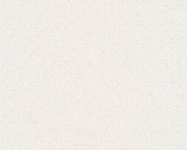 Tapete Vlies Einfarbig Struktur cremeweiß 37262-4 online kaufen