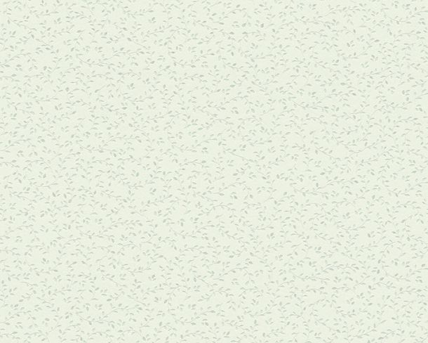 Tapete Vlies Floral Blätter hellgrün Glitzer 37265-3