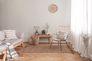 Wohnbereich Tapete Vlies New Walls Einfarbig creme 37395-2   373952 livingwalls 4