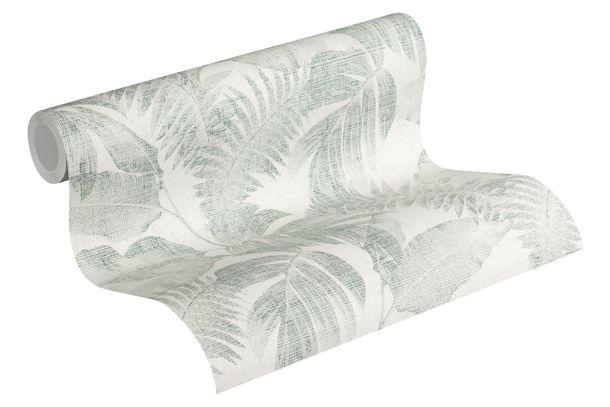 Wallpaper non-woven floral jungle cream green 37396-4 online kaufen