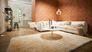 Wohnzimmer Tapete Vlies New Walls engmaschige Grafik orange kupfer Glanz 37424-3 | 374243 livingwalls 4