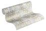 Rollenbild Tapete Vlies New Walls Grafisch Muster cremegrau gold Glanz 37424-4   374244 livingwalls 1