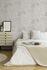 Schlafzimmer Tapete Vlies New Walls Einfarbig mit Struktur cremegrau Glanz 37425-4 | 374254 livingwalls 4