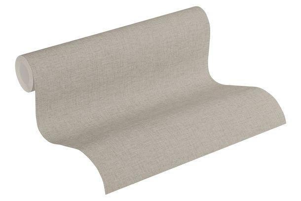 Tapete Vlies Einfarbig meliert taupe grau 37430-8 online kaufen