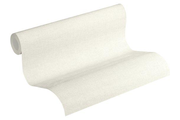 Tapete Vlies meliert Einfarbig weiß grau 37431-1 online kaufen