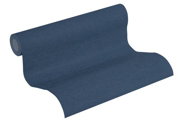 Tapete Vlies meliert Einfarbig blau grau 37431-3 online kaufen