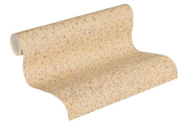 Non-woven Wallpaper 37389-7 cork motive beige  online kaufen