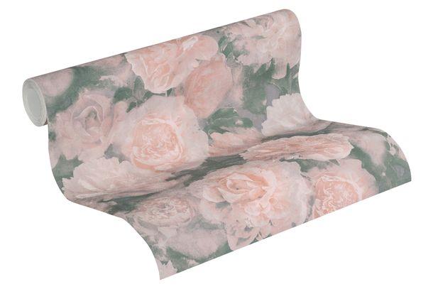 Tapete Vlies Neue Bude 37402-1 Blüten flieder-grau rosa  online kaufen