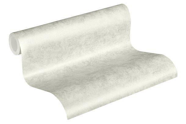 Tapete Vlies 37428-2 Meliert Einfarbig silber weiß  online kaufen