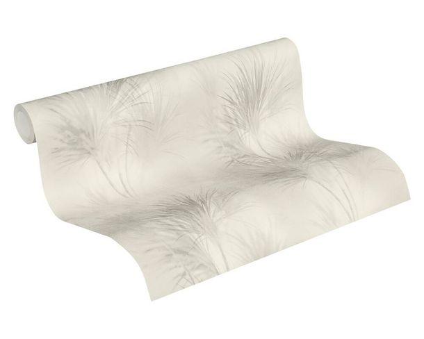 Tapete Vlies 37275-1 Gräser Aquarell grau weiß  online kaufen
