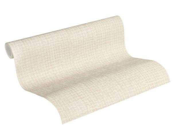 Tapete Vlies 37368-3 Bast-Muster Abstrakt beige weiß  online kaufen