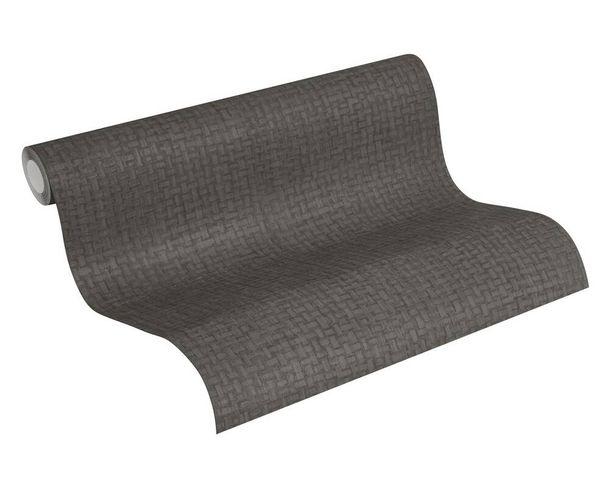 Tapete Vlies 37368-5 Bast-Muster Abstrakt taupe schwarz  online kaufen