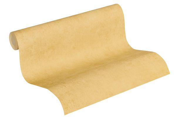 Tapete aus Vlies Einfarbig Beton gelb-gold 37370-1 online kaufen