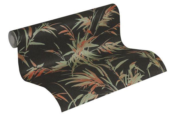 Tapete Vlies Bambus-Pflanze schwarz grün 37376-3 online kaufen