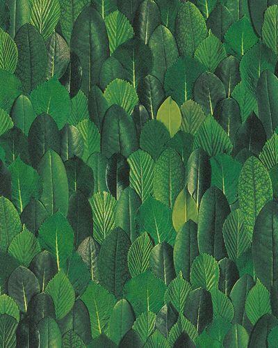Tapete Vlies Floral Blätter grün Marburg 31735