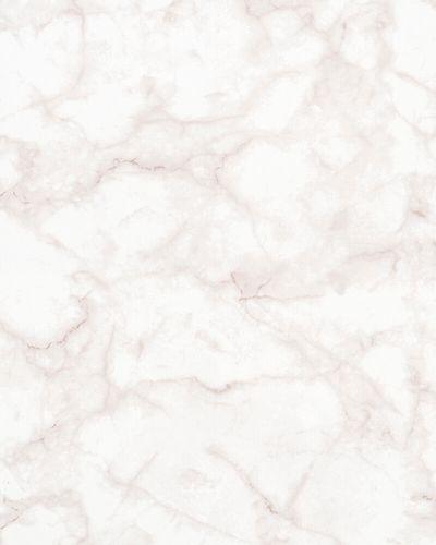 Non-woven Wallpaper Marble Design white pink 31738 online kaufen