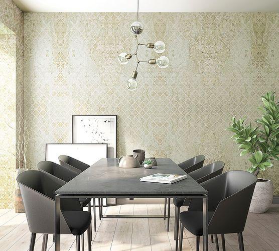 Tapete Vlies Vintage Barock beige gold Marburg 31776