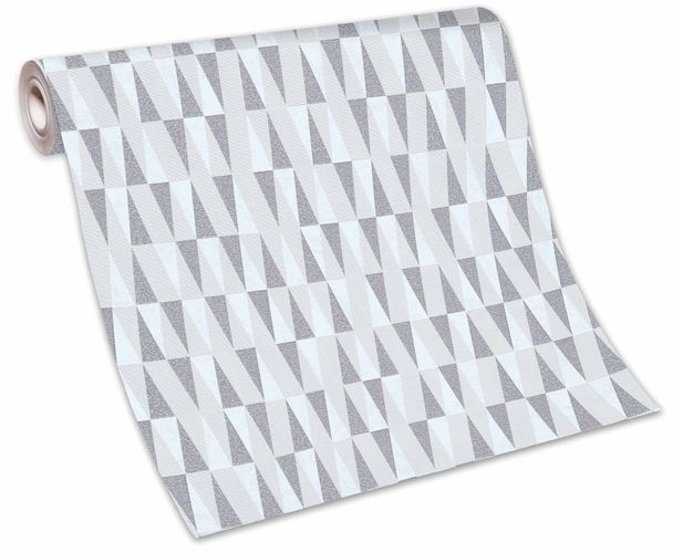 Tapete Vlies 10061-14 Rauten creme beige grau Glanz online kaufen