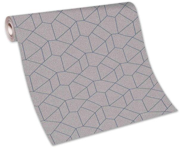 Tapete Vlies 10062-30 grafisches Design beige blau  online kaufen