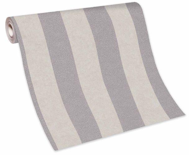 Wallpaper non-woven 10077-02 stripe pattern taupe grey  online kaufen