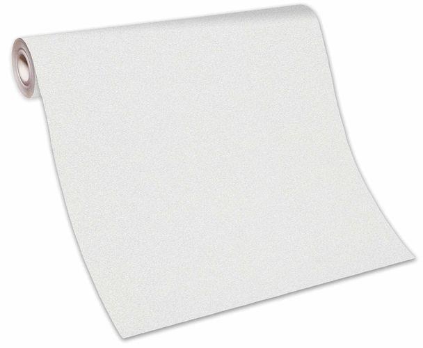 Tapete Vlies Einfarbig Struktur weiß Glanz 10079-01 online kaufen