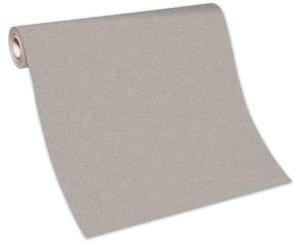 Tapete Vlies Einfarbig Struktur grau Glanz 10079-02