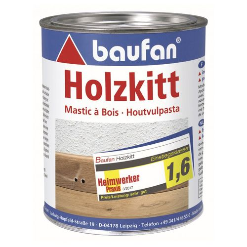 Baufan wood putty 1 kg fast drying filling compound