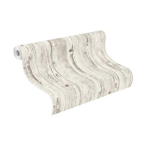 Tapete Vlies Rasch Holzbretter grau-weiß 427301 online kaufen