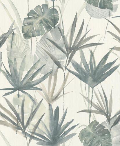 Barbara Home Non-woven Wallpaper Leaves green 536409 online kaufen