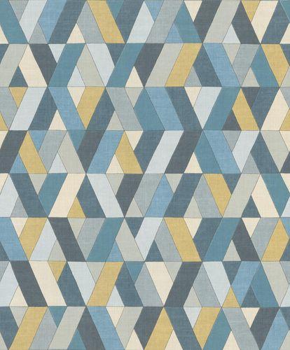 Barbara Home Non-woven Wallpaper Graphic yellow grey 536744 online kaufen