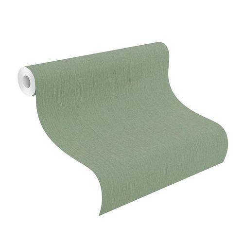Barbara Home Non-woven Wallpaper Plain green 537178 online kaufen