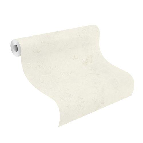 Tapete Vlies Einfarbig meliert weiß beige Finca 416916 online kaufen