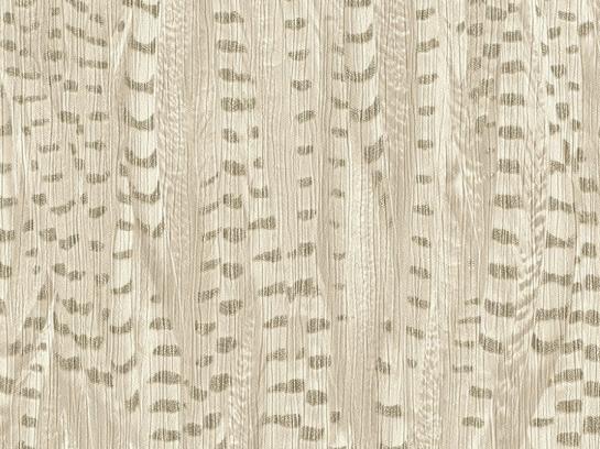 Tapete Vlies Highlands Feder Design creme gold 550238
