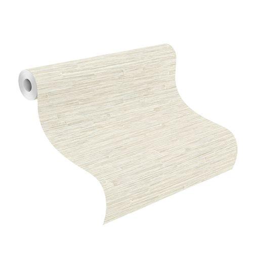 Tapete Vlies Highlands Holz Design weiß gold 550535 online kaufen