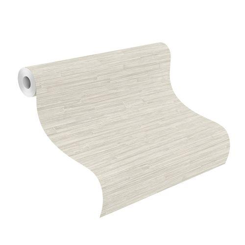 Tapete Vlies Highlands Holz Design grau gold 550542