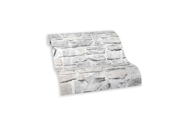 Wallpaper self-adhesive grey brick wall 368461 buy online
