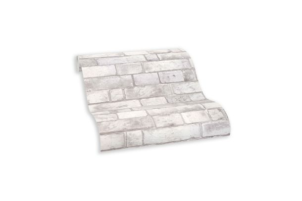 Wallpaper self-adhesive grey stone wall 368491 online kaufen