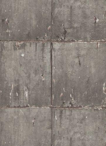 Tapete Vlies Rustikale Mauer braun 10084-11 Instawalls 2
