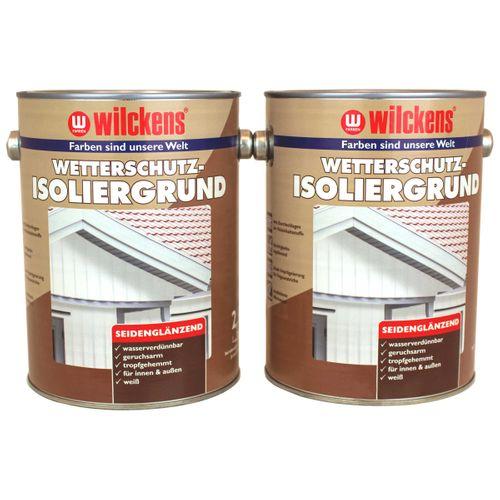 Wilckens Wetterschutz-Isoliergrund Weiß PAWI 9010 2,5 L