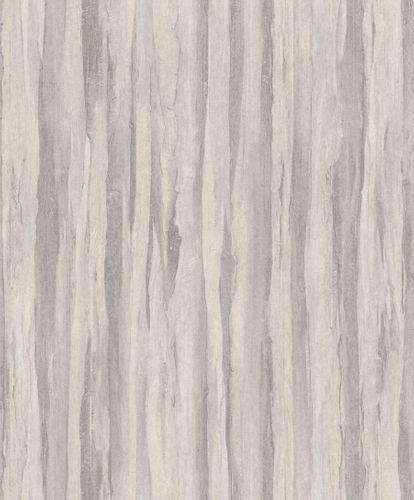 Non-Woven Wallpaper Vintage Wood light grey 298597