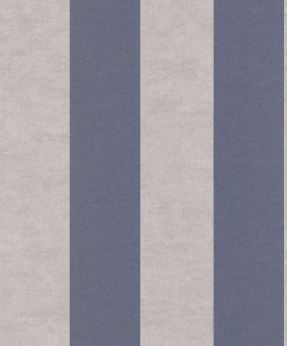 Non-Woven Wallpaper Block Stripes blue Matera 298948