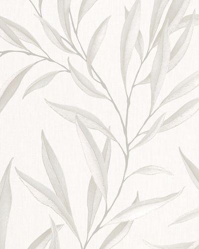 Tapete Vlies Floral Blätter beige creme Marburg 32202